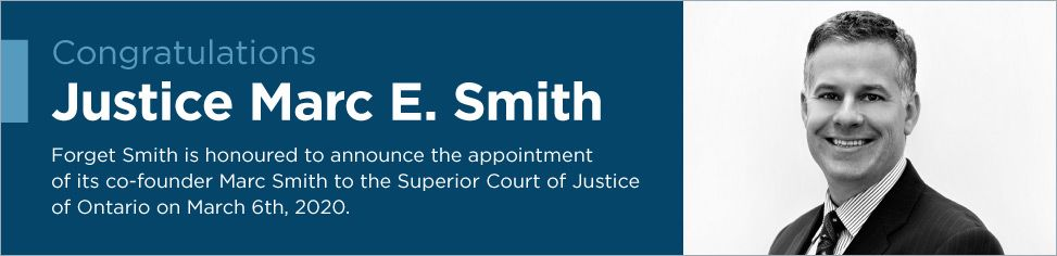 Congratulations Justice Marc E. Smith